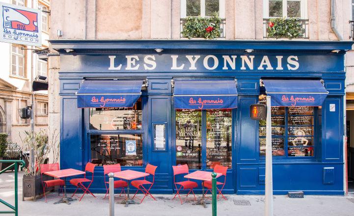 Bouchon Les Lyonnais Façade