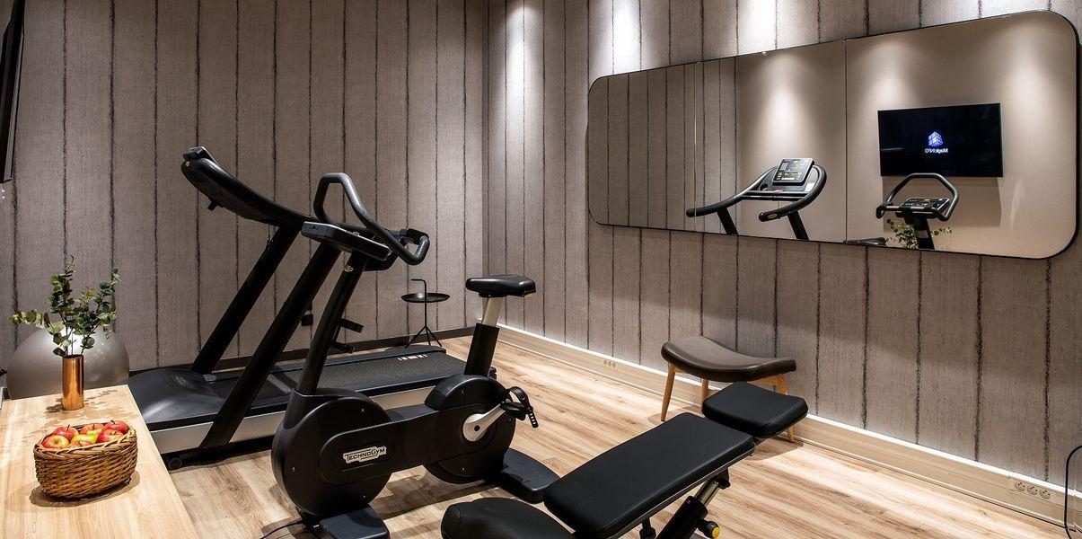 Mercure Paris Gennevilliers Salle de fitness