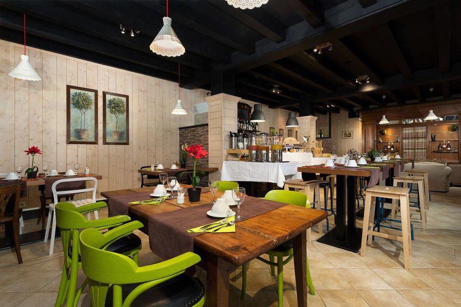 Château de Candie **** Salle de restaurant