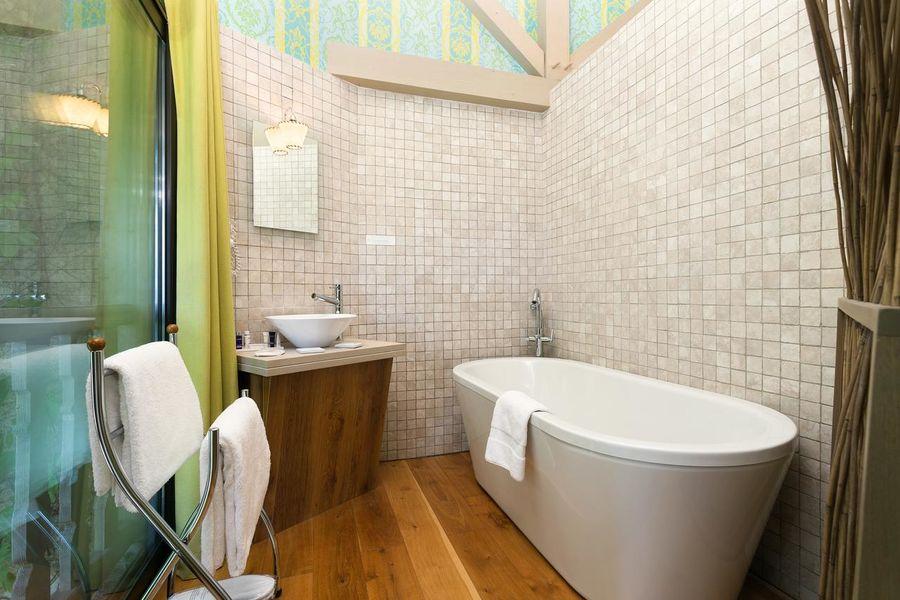 Château de Candie **** Salle de bain