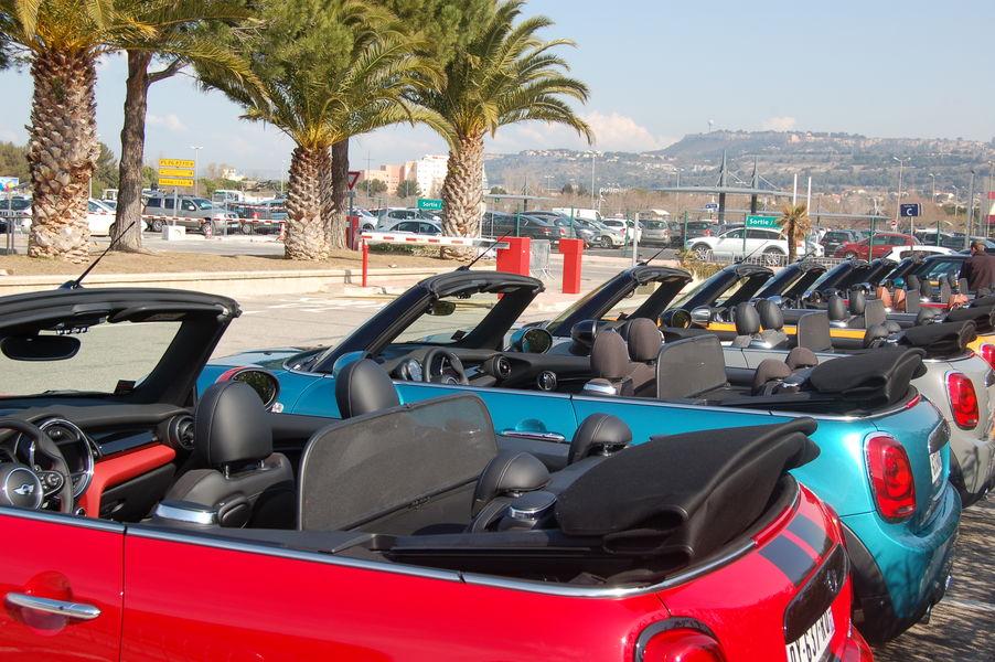 Centre d'Affaires Aeroport Marseille Provence Lancement presse véhicule