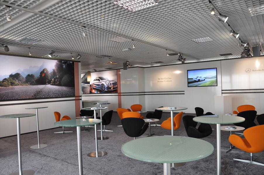 Centre d'Affaires Aeroport Marseille Provence Salon Panoramique décoré