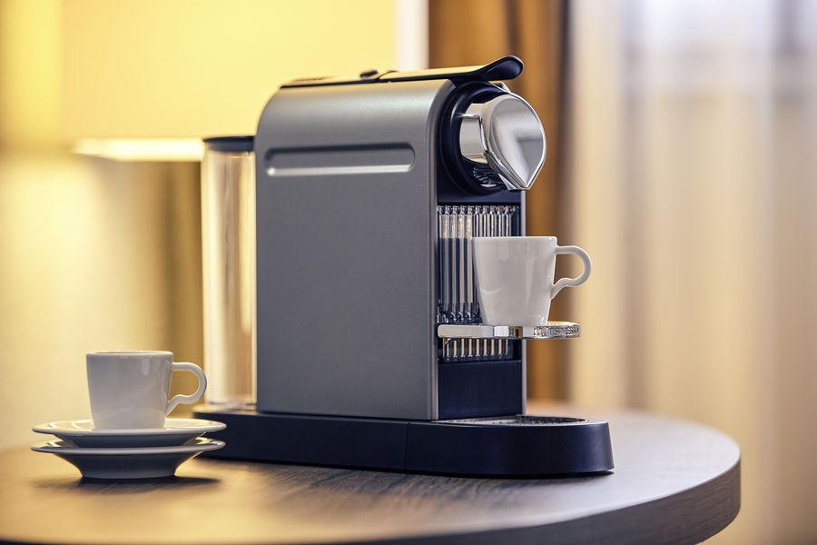 Hotel Mercure Marne la vallée Bussy St Georges Machine Nespresso  - Les petits plus des chambres privilèges