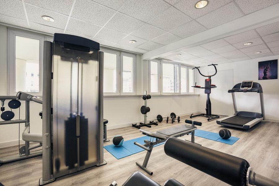 Hotel Mercure Marne la vallée Bussy St Georges Salle de fitness ouvert 24/24h ouvert à tous