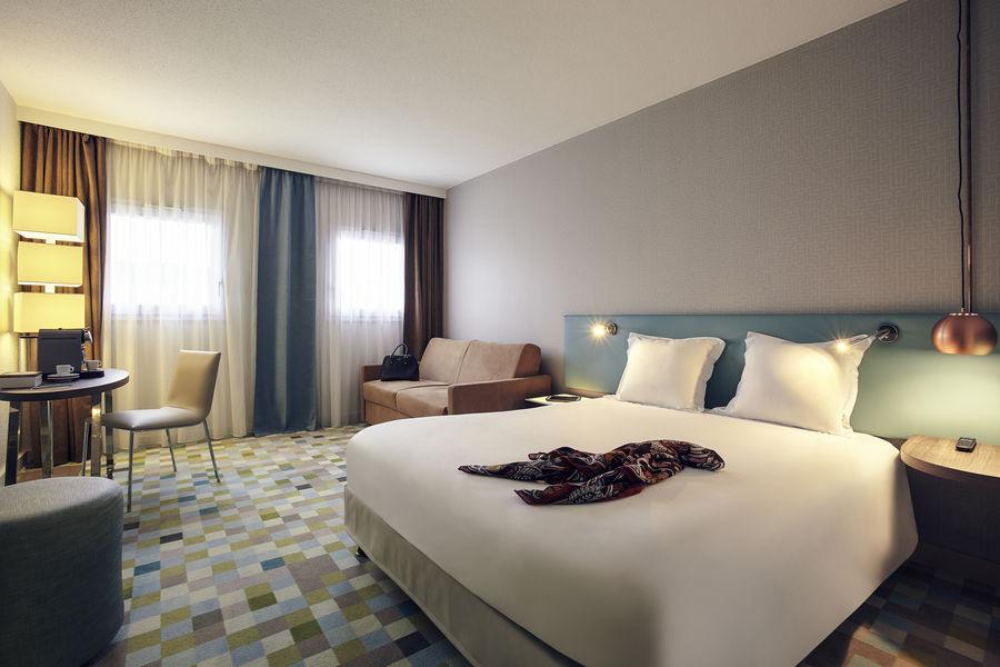 Hotel Mercure Marne la vallée Bussy St Georges Chambre privilège - plus d'attentions= plus de confort