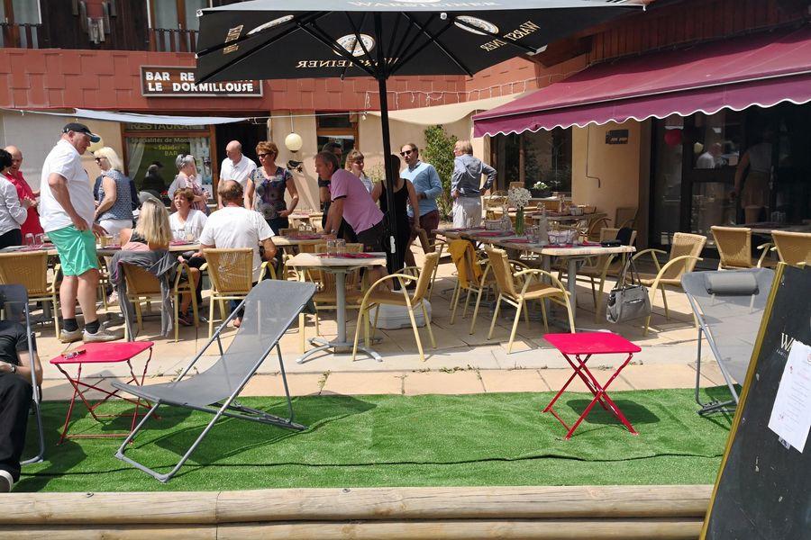 Hôtel Espace - Restaurant le Dormillouse Terrasse