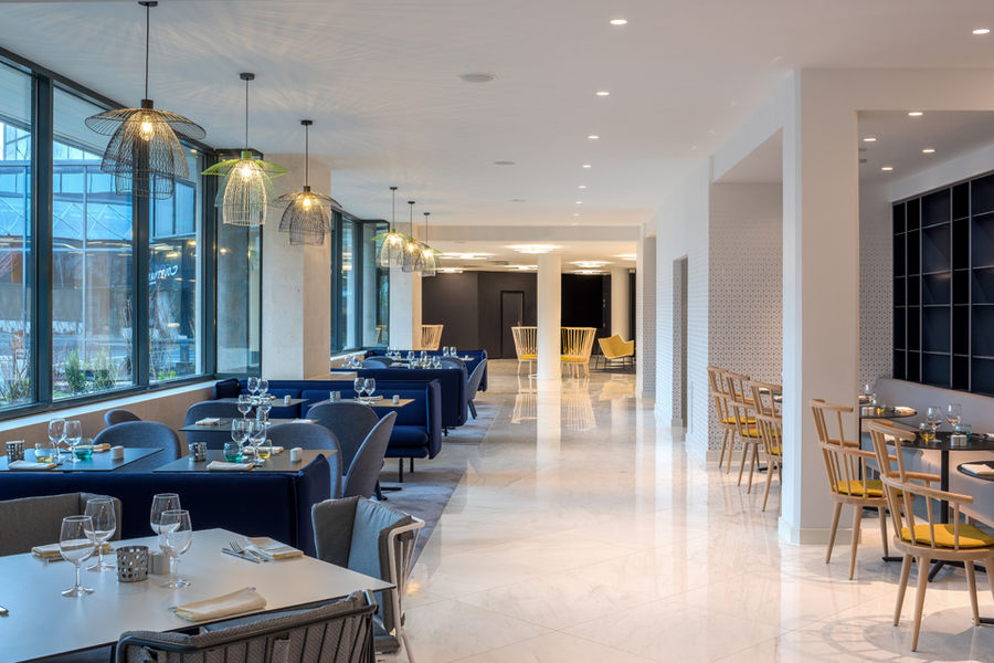 Courtyard by Marriott Paris Charles de Gaulle Airport Restaurant