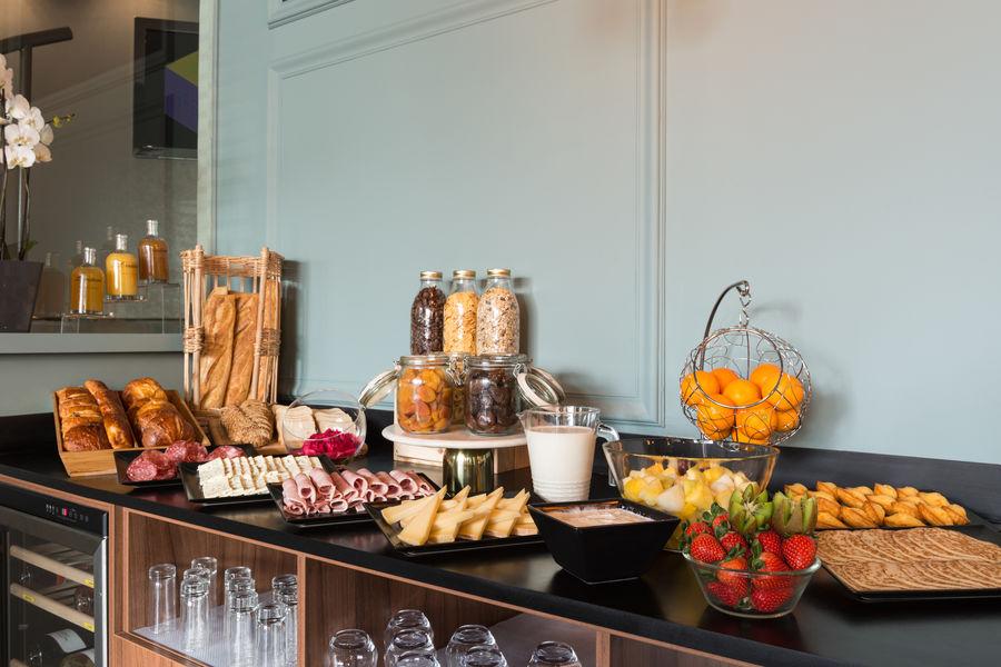 Best Western Hôtel Le Galice  Petit déjeuner buffet