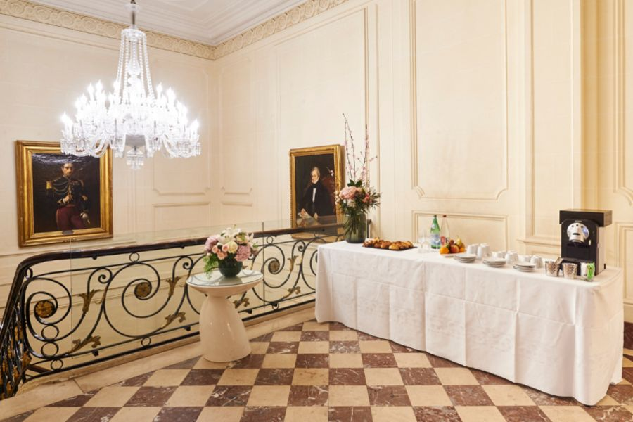 Hôtel De Sers ***** Hall Baccarat