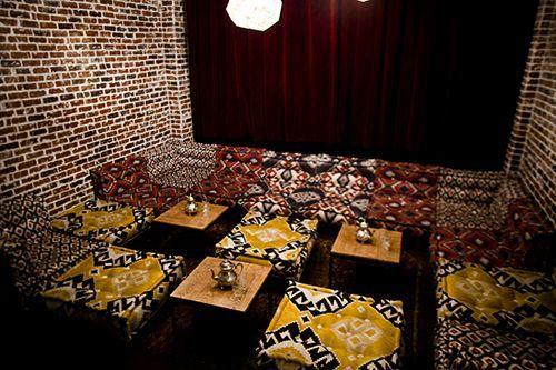 Badaboum Bar à cocktails / Salon marocain