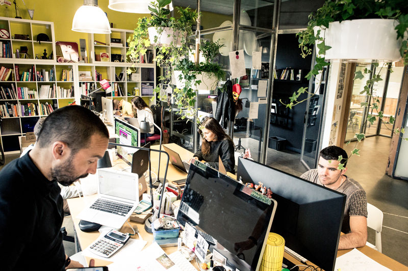 Le Chaudron Coworking Agence Kosmoss