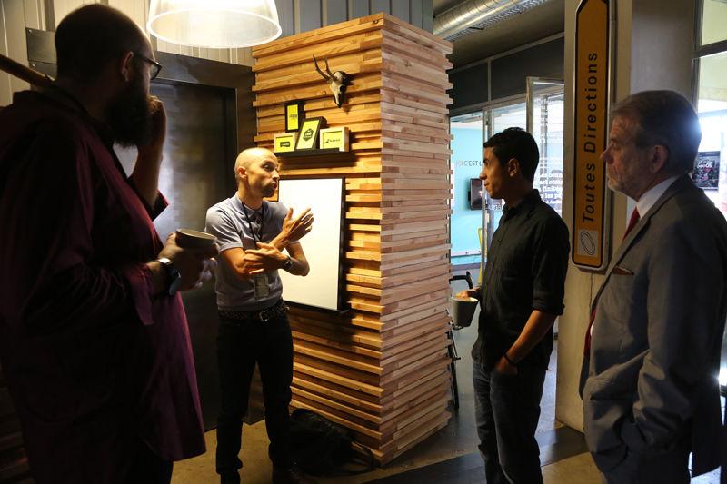 Le Chaudron Coworking Espace Bois | Discussions