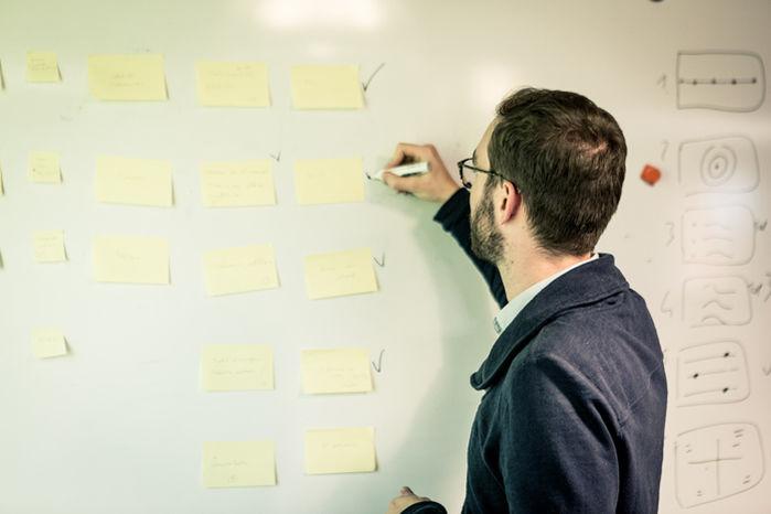 Le Chaudron Coworking Tableau blanc 3m | Créativité | Design Thinking | Design Sprint