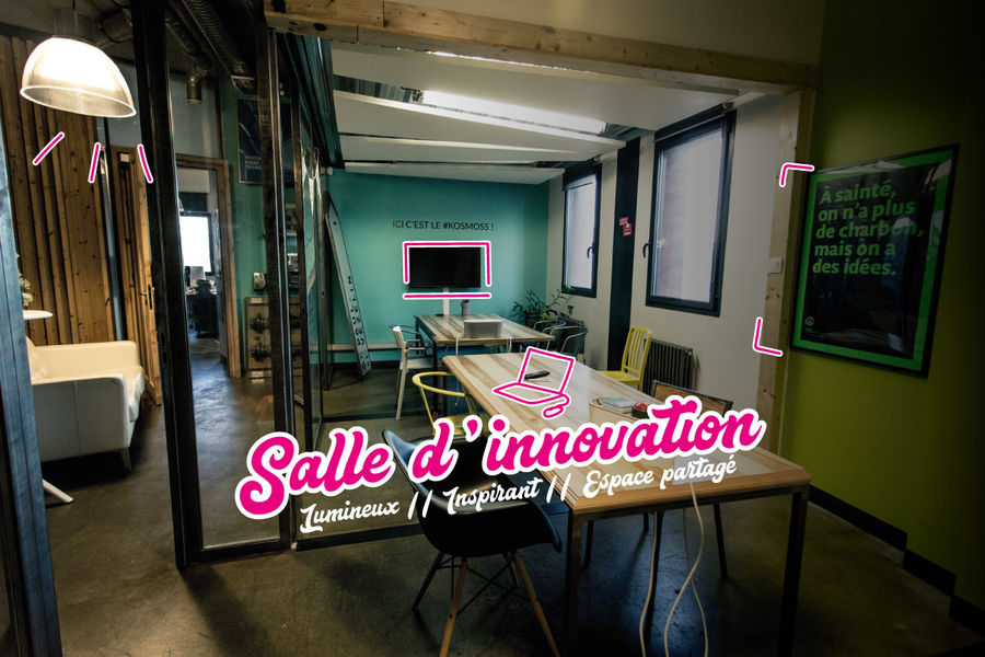 Le Chaudron Coworking Salle d'Innovation