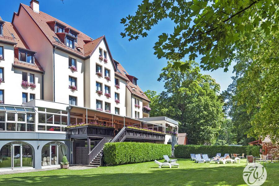 Hotel Restaurant Spa Verte Vallée Vue jardin