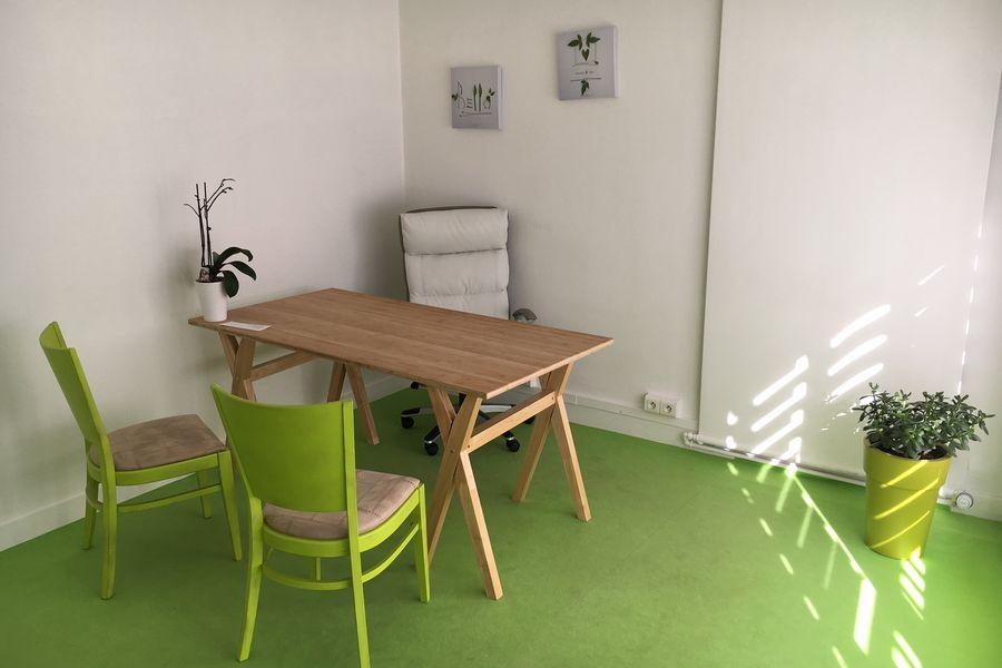 Salons 8ème sens Bureau Vert