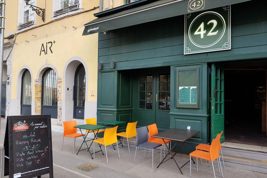 Le 42 Bar Terrasse