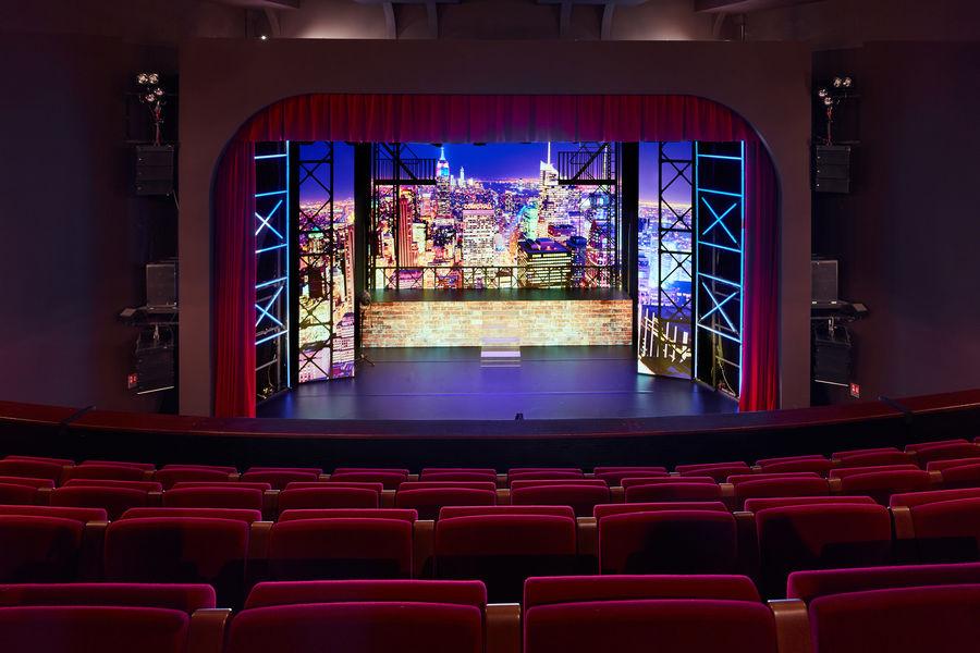 Théâtre de la Tour Eiffel Ecran LED de 40m2