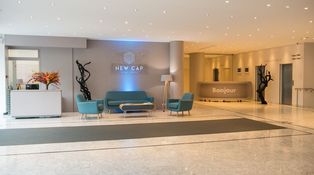 New Cap Event Center Lobby d'Accueil