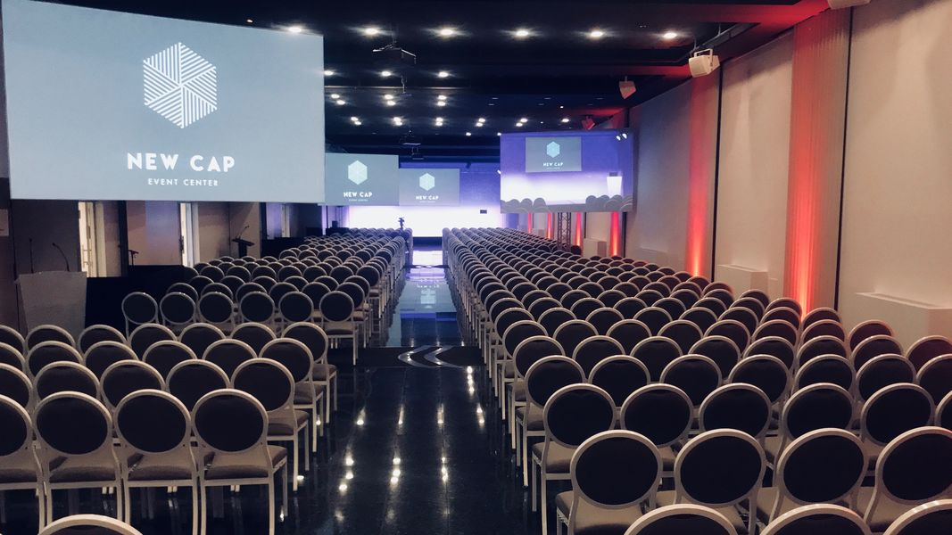 New Cap Event Center Salon Seine 650 pax Vue Participant