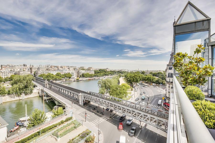 Rooftop Paris La vue de Rooftop
