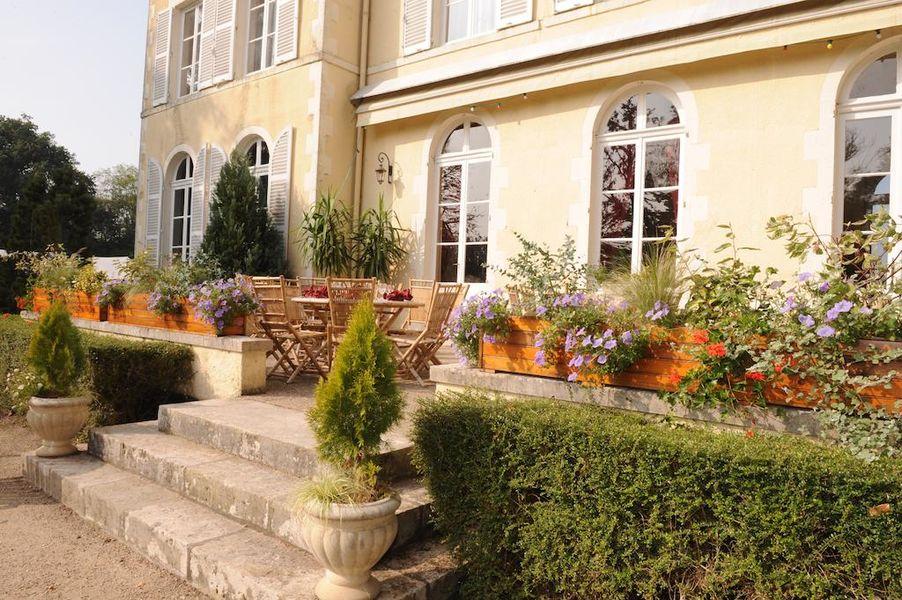 Château de Chicamour Terrasse