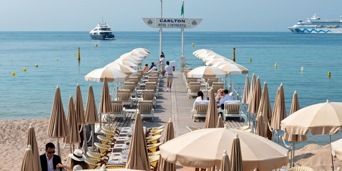 InterContinental Carlton Cannes ***** Terrasse