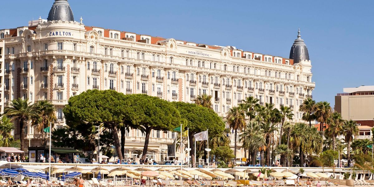 InterContinental Carlton Cannes ***** Façade