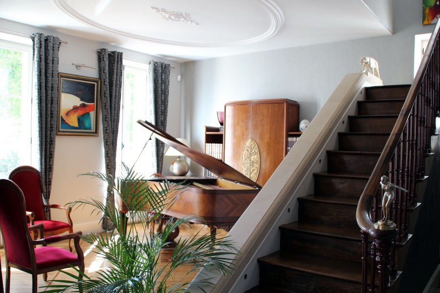 La Brunerie et ses Instants Le salon Art Deco
