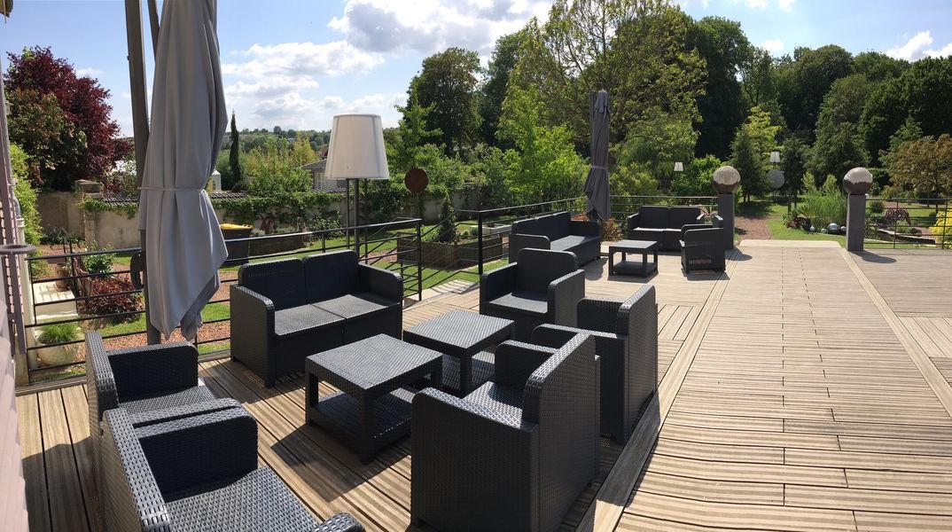 La Brunerie et ses Instants Le Parc (extérieur) - terrasse