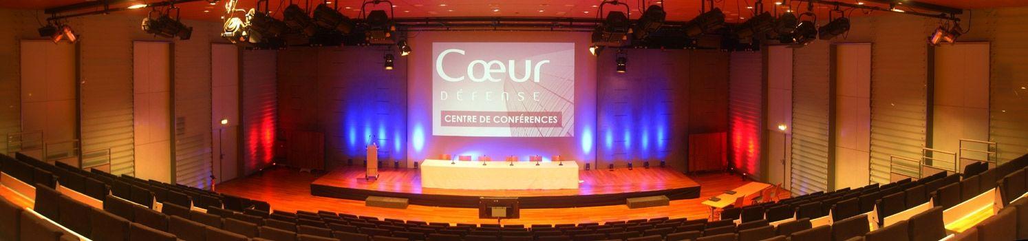 Centre de Conférences Coeur Défense Amphithéâtre Hermès