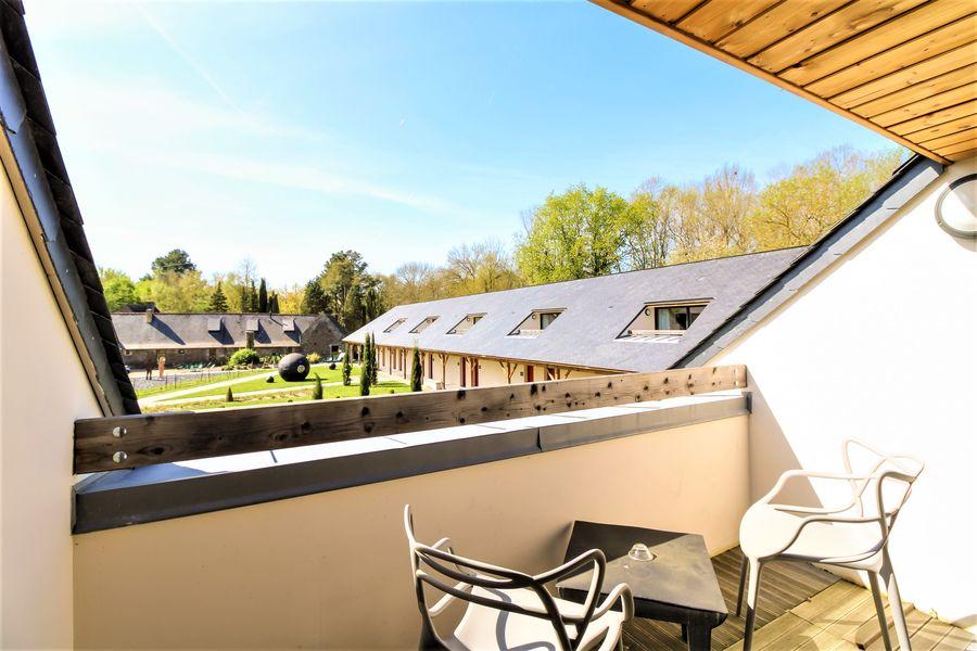 Loire et Sens Terrasse de l'étage - Chambre Junior Suite