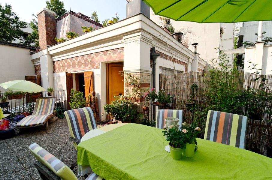 La Villa des Créateurs Notre terrasse aménageable