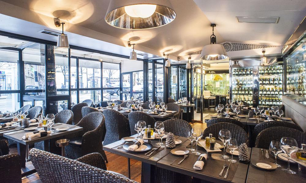 Le Bar à Huîtres - Montparnasse Salle de restaurant