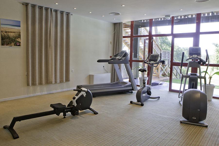 Best Western Resort Hôtel Lacanau Salle Fitness
