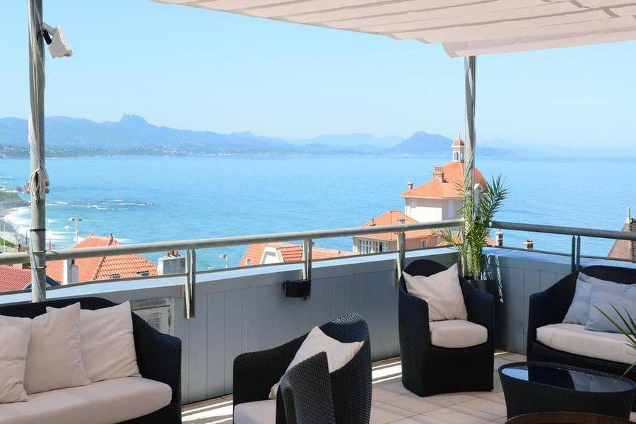 Radisson Blu Hotel Biarritz  Terrasse