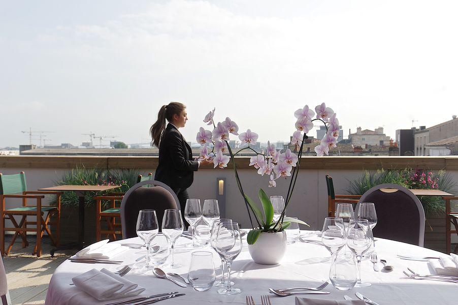 Hotel Vatel **** L'espace Marco Polo et  sa terrasse privative