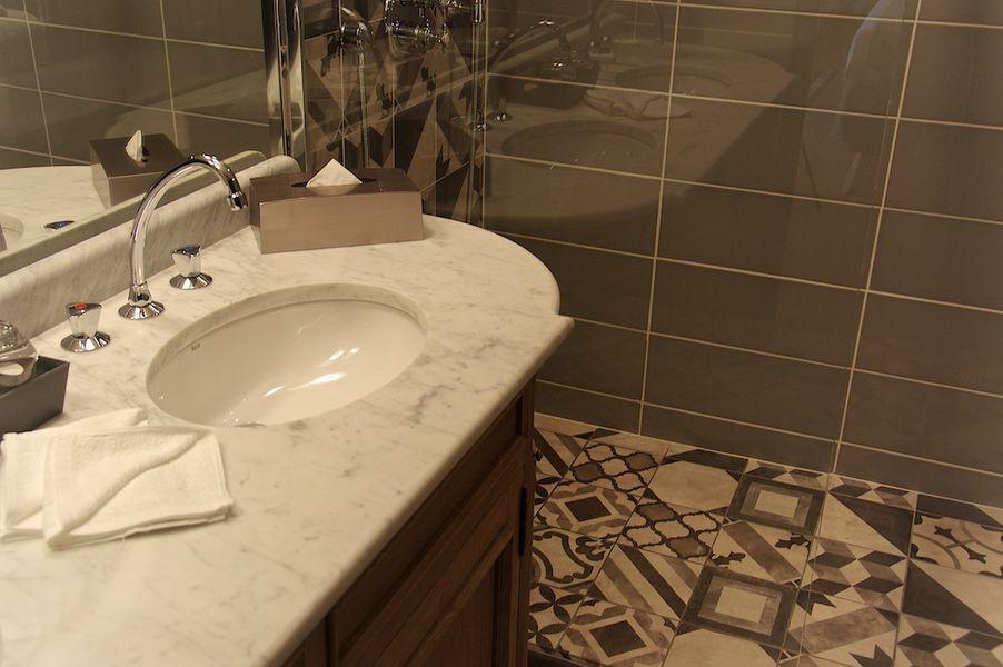 Hotel Vatel **** Salle de bain Chambre Luxe