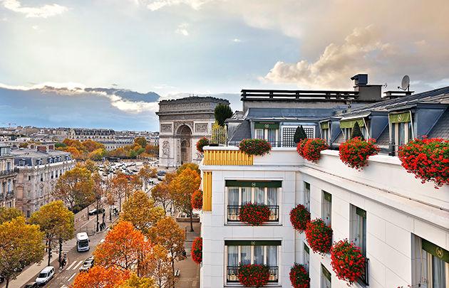 Hôtel Napoléon Paris ***** Vue Hôtel Napoléon