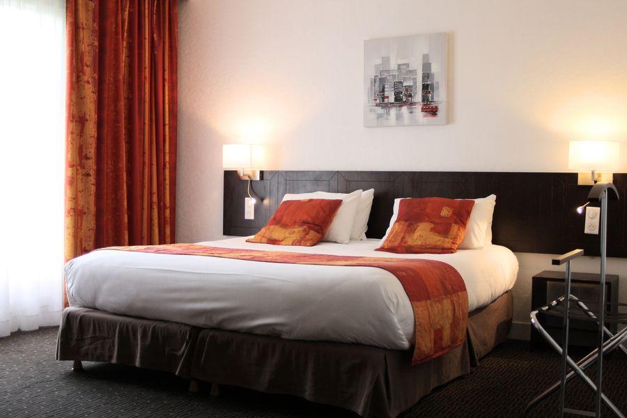 Qualys Hotel Rouen - La Bertelière **** Chambre