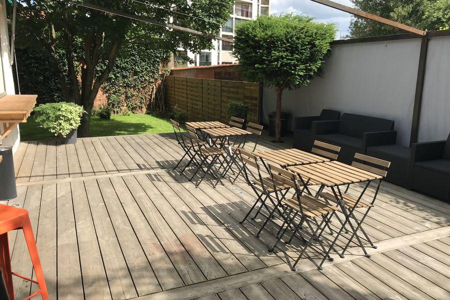 EPB Terrasse privée et jardin