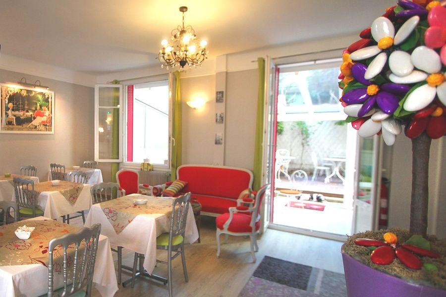 Villa Sorel ** Salon petit déjeuner