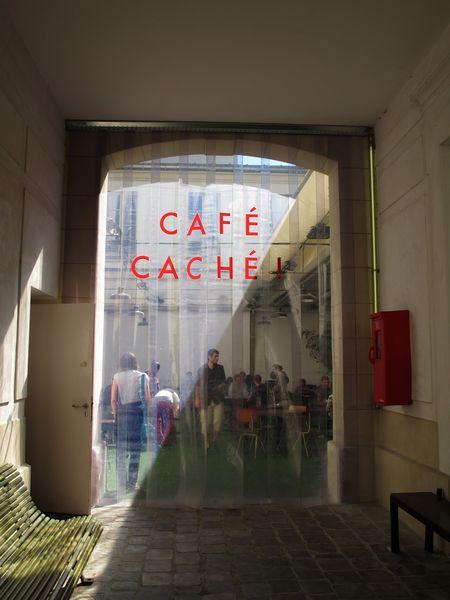 Café Caché l'entrée