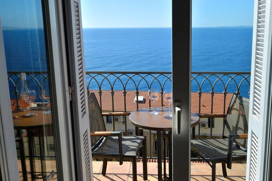 Hôtel La Pérouse **** Chambre supérieure vue mer