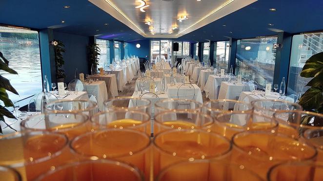 Salon panoramique, dîner croisière