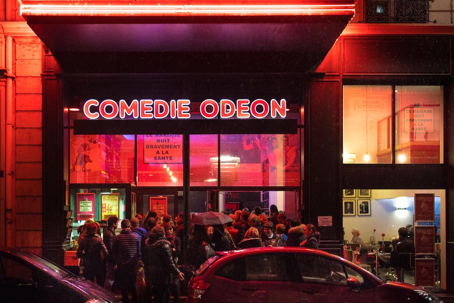 Théâtre Comédie Odéon FACADE DU THEATRE