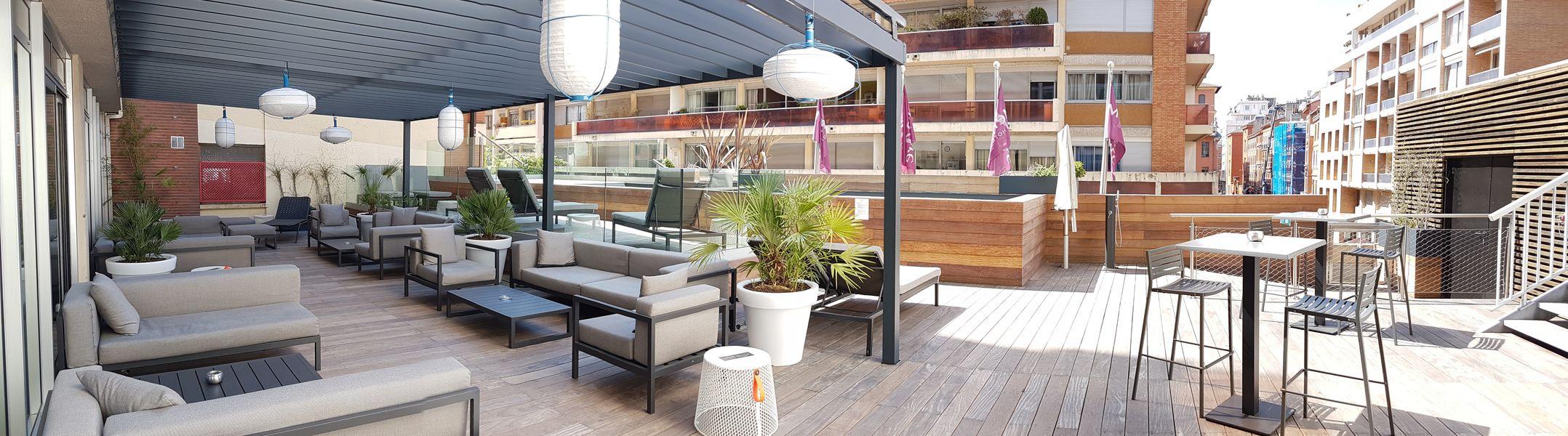 Hôtel Mercure Toulouse Centre Saint Georges LA TERRASSE DE 200 M2