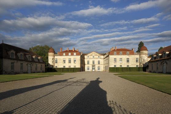 Cour d'honneur & entrée du château