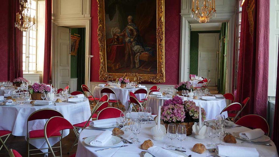 Château de Parentignat Salle à Manger