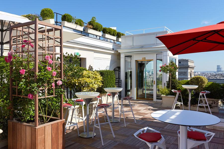 Hôtel Raphael Paris ***** Bar La Terrasse